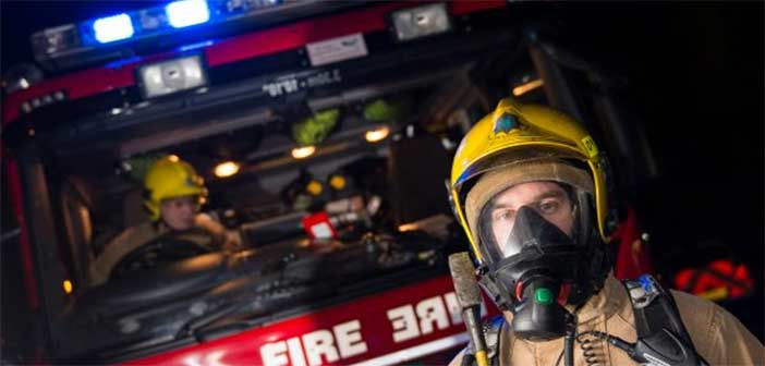 Firefighters tackle car blaze at Lymm